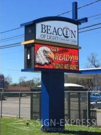 Beacon-of-Light-Houston-TX-Church-LED-Sign