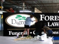 Dignity-Forest-Park-Lawndale-Sign-Refurbish