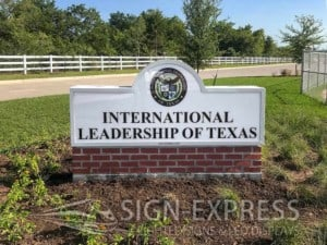 International-Leadership-of-Texas-Outdoor-School-Signs