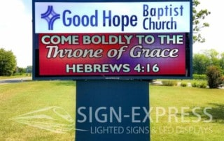 Good-Hope-Baptist-Church-Eagle-Series-LED-Sign