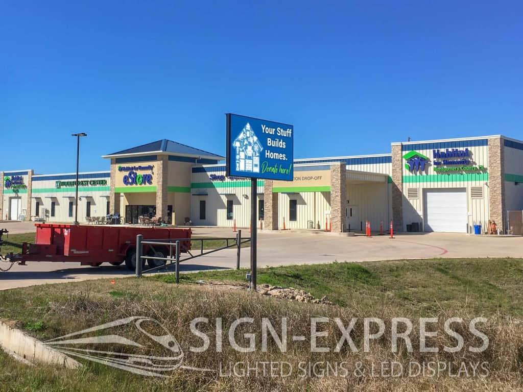Habitat for Humanity ReStore Digital Billboard - Conroe, TX