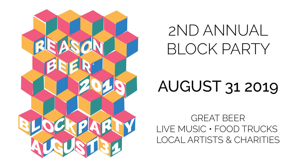 Blue Dog Farm will be at the Reason Beer Block Party