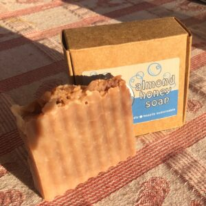 Blue Dog Farm's Almond Honey Soap