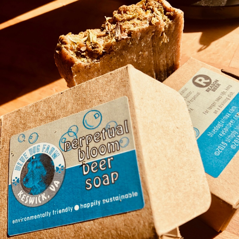 Reason Beer's Perpetual Bloom IPA is now a soap from Blue Dog Farm.