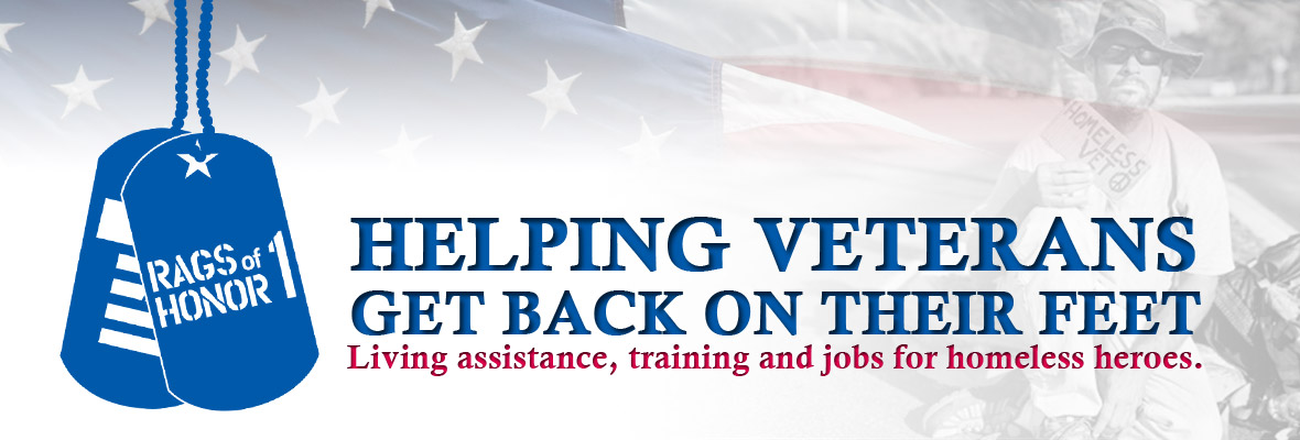 Rags Of Honor 1 - helping veterans get back on their feet