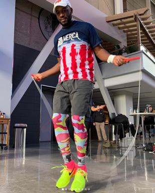 Jump for Vets 2018 Participant Dwayne