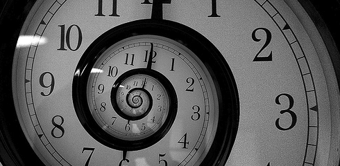 Does time travel work in alternate realities or a linear timeline?