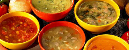 Cream or clear broth soups?