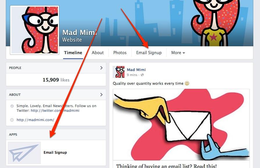 Mad Mimi | Facebook