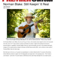 Norman Blake Interview in PremierGuitar