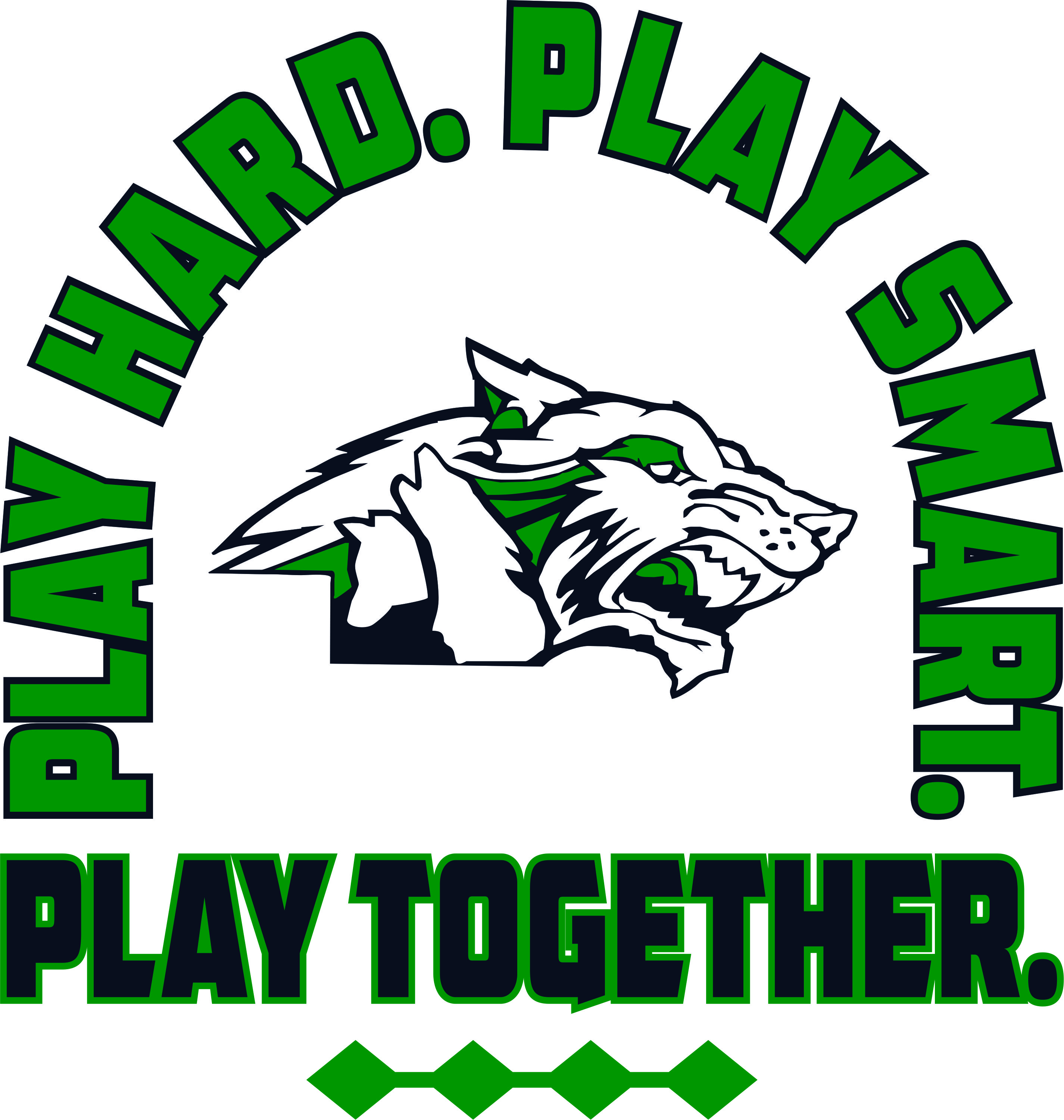play hard, play smart, play together