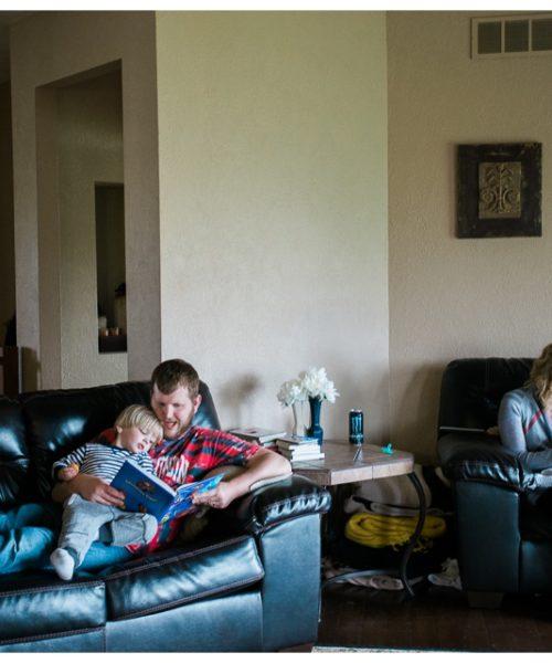 newborn lifestyle family session janesville wisconsin