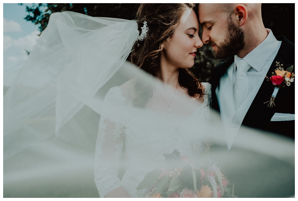 Madison Catholic Wedding Couple