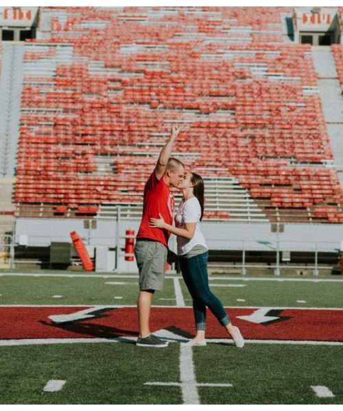 Camp Randall Engagement Session