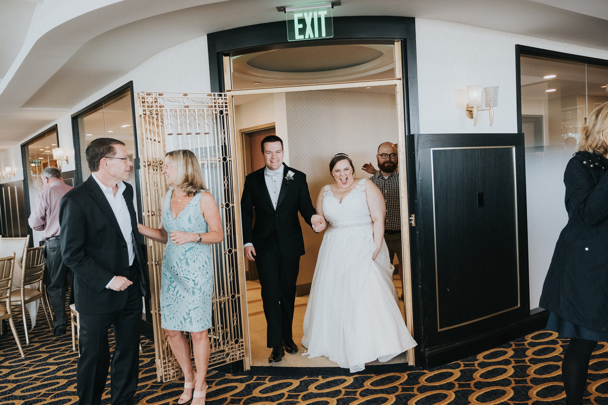 A Wedding at the Park Hotel