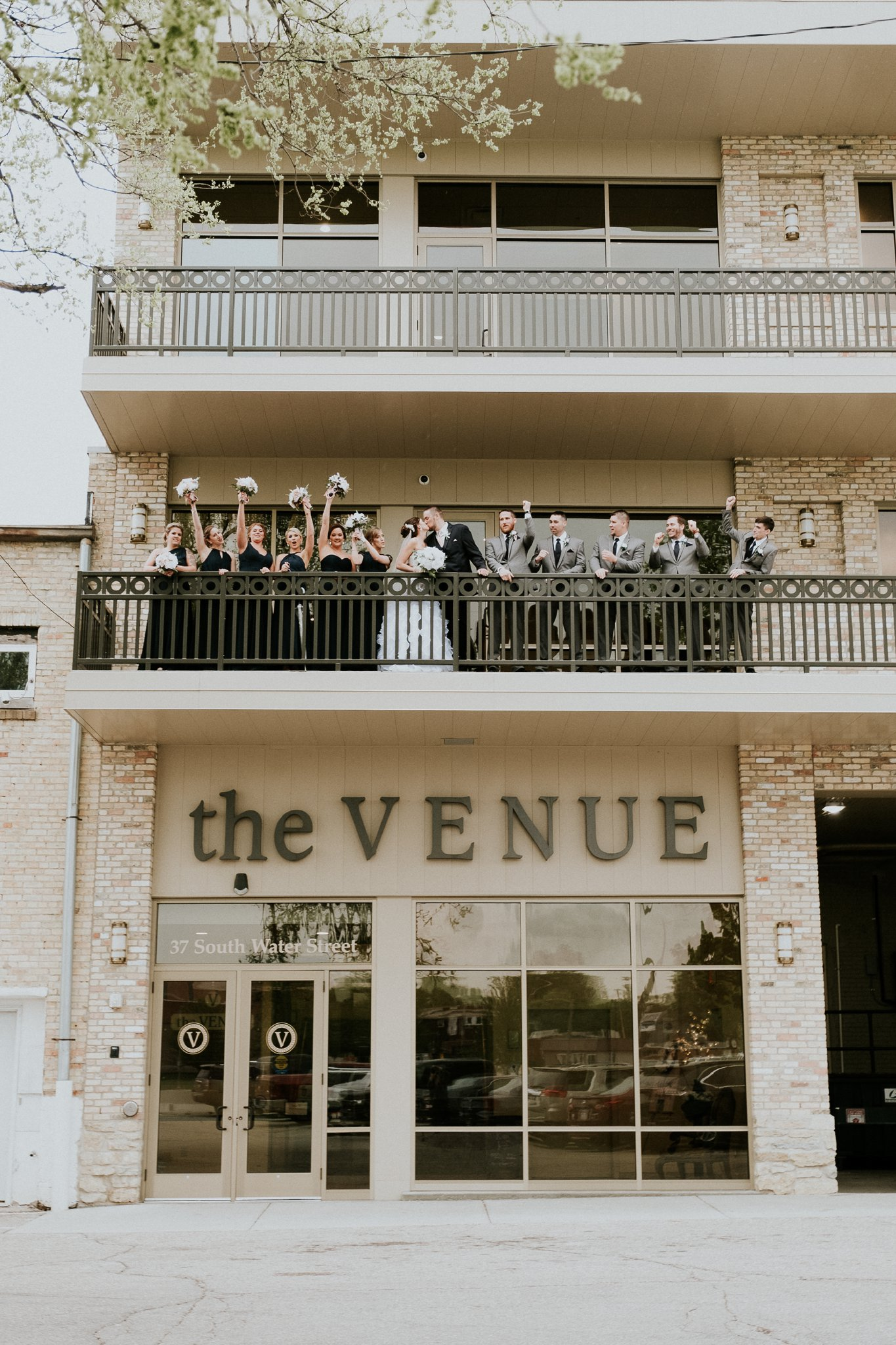 Vintage Inspired Wedding at The Venue