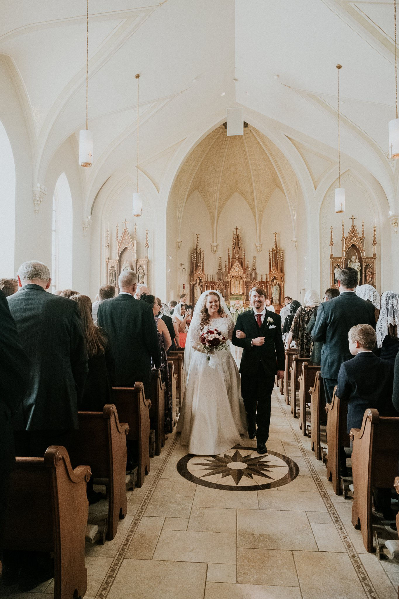 High Latin Mass Wedding
