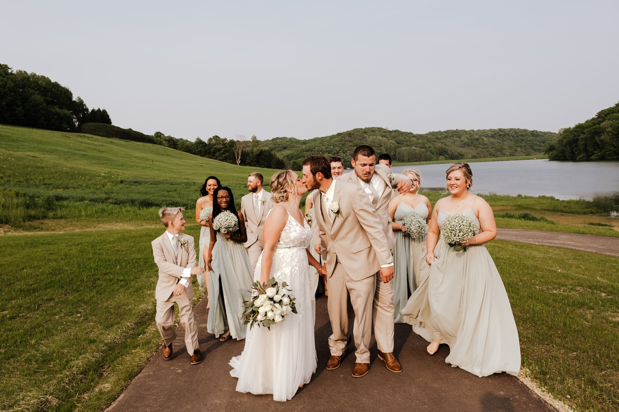 White Mound County Park Wedding