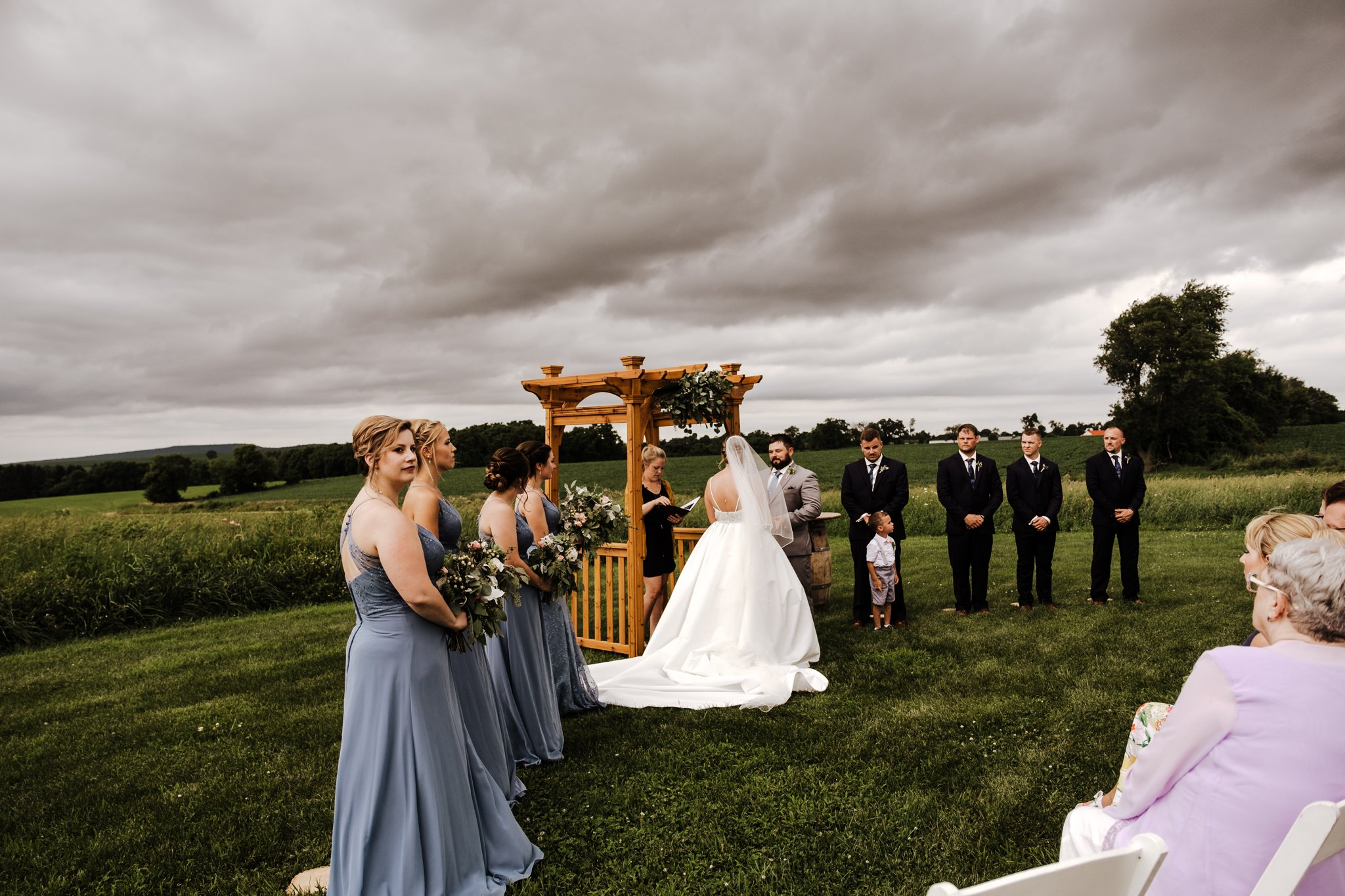 Wisconsin Barn Wedding
