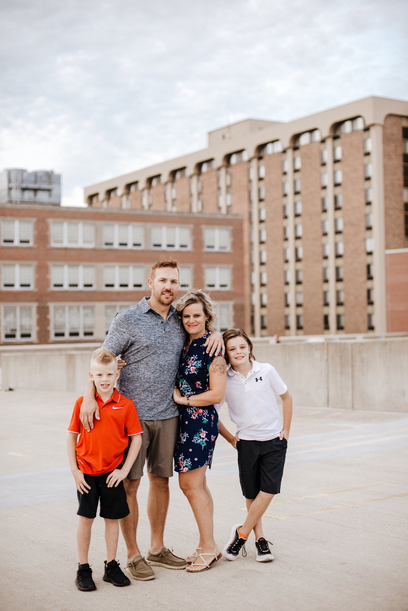 Parking Garage Family Photos