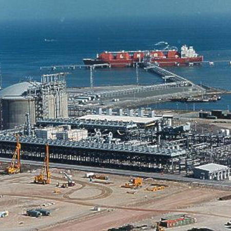 LNG Terminal Processing