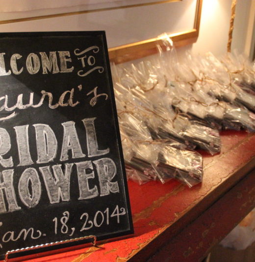 A Sparkle Factor Glam Shabby Chic Bridal Shower