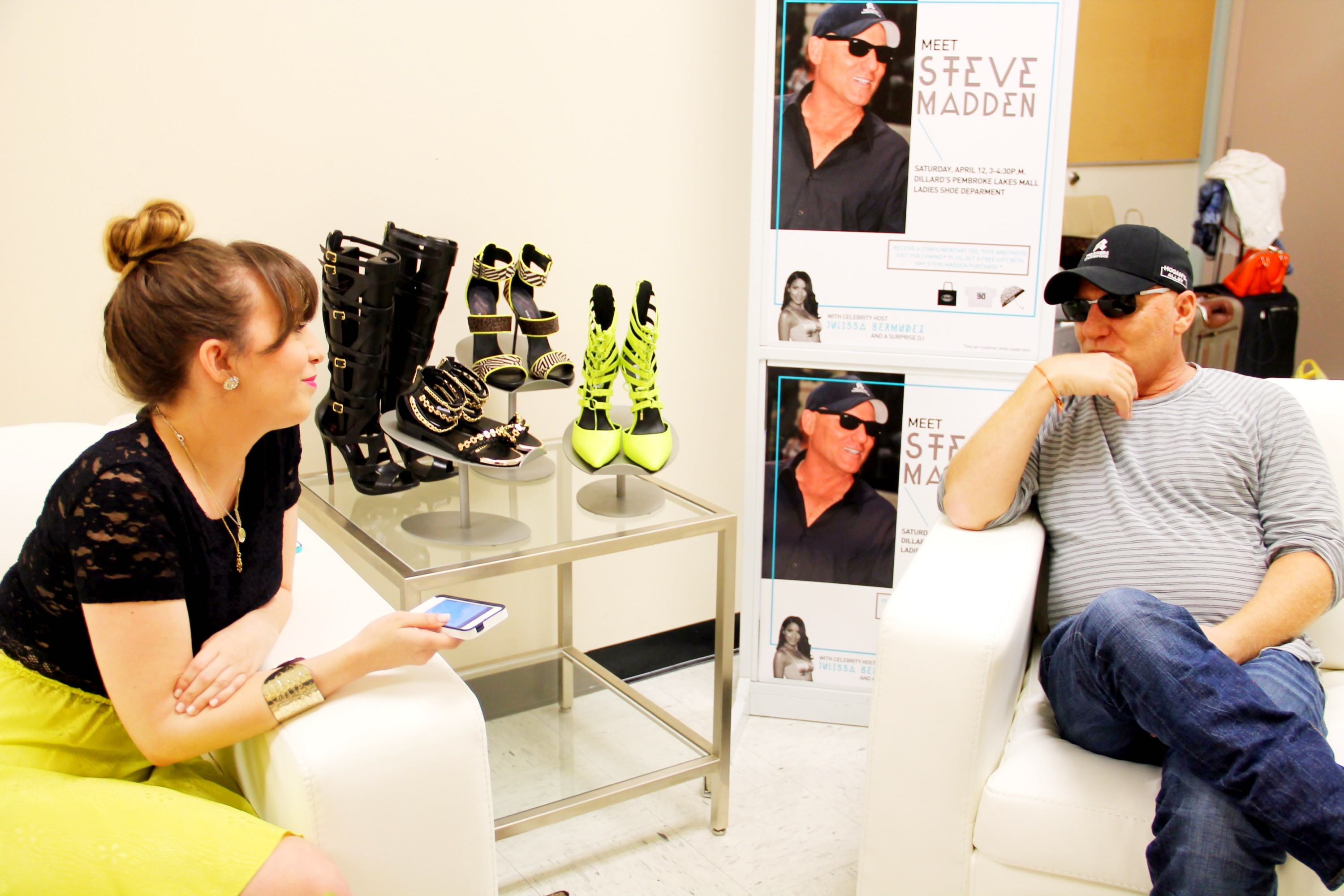 A Sparkle Factor Steve Madden Interview