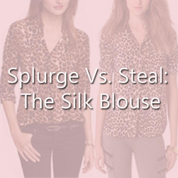 silk blouse copy