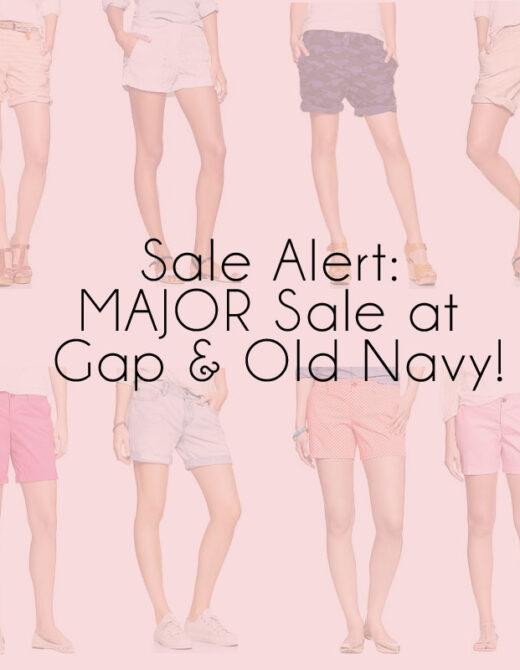 gap oldnavy shorts teaser