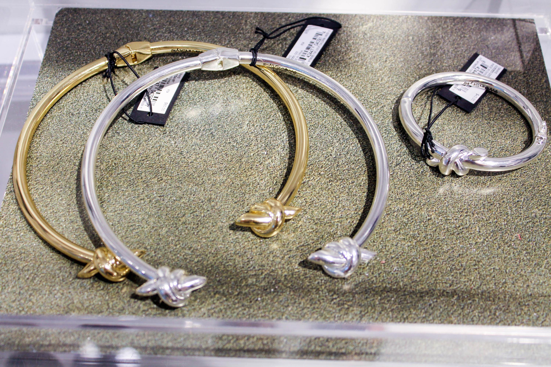 nine west, 9WInStyle, choker necklace, nine west choker necklace, instyle knot collar necklace, nine west knot collar necklace