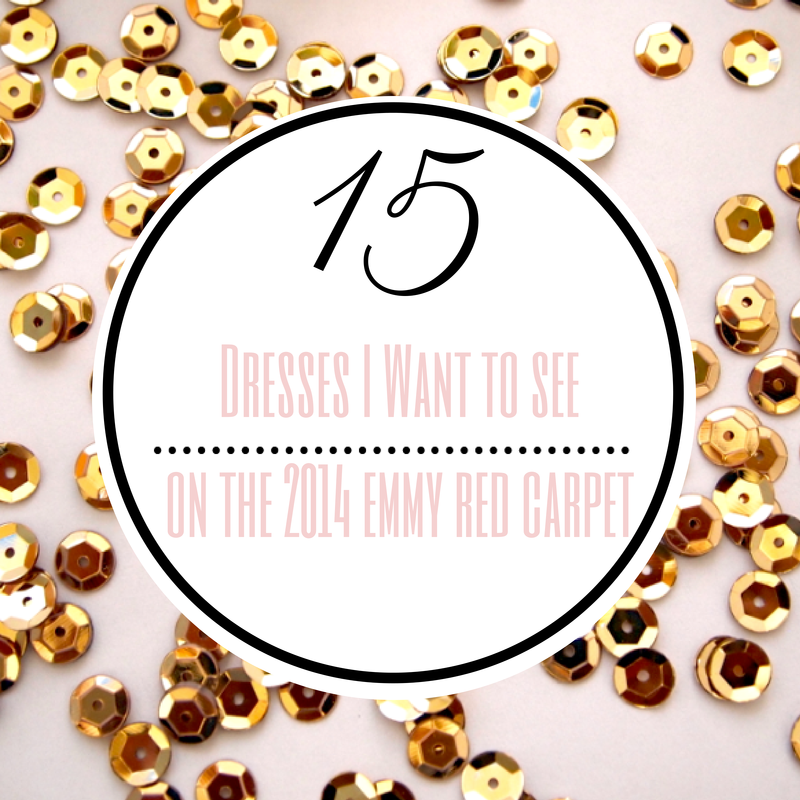 15 dresses 2014 emmy red carpet