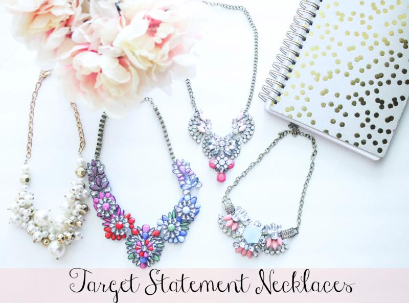 Target Statement Necklace