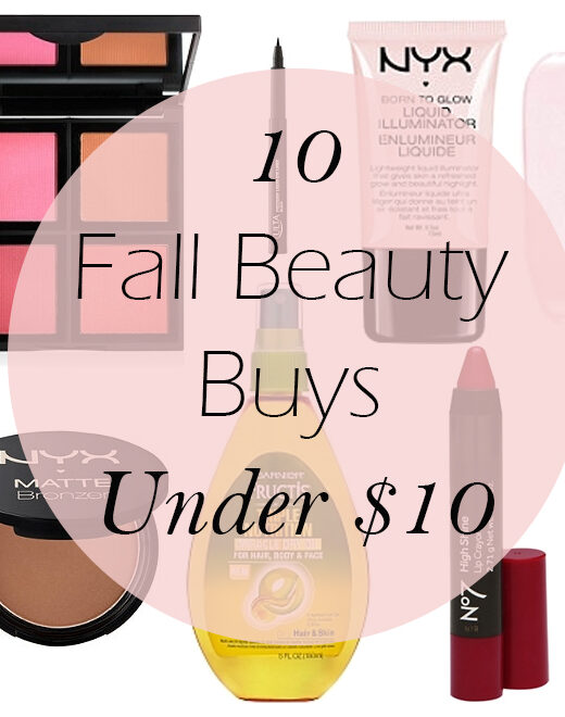10 fall beauty products under $10