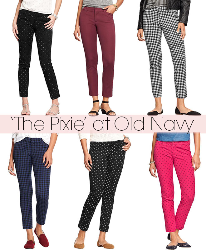 the pixie pant old navy