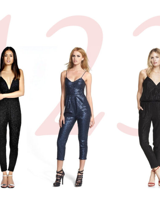 sequined jumpsuits