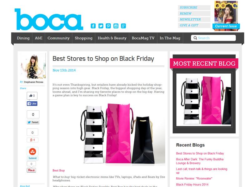 Boca Mag Black Friday
