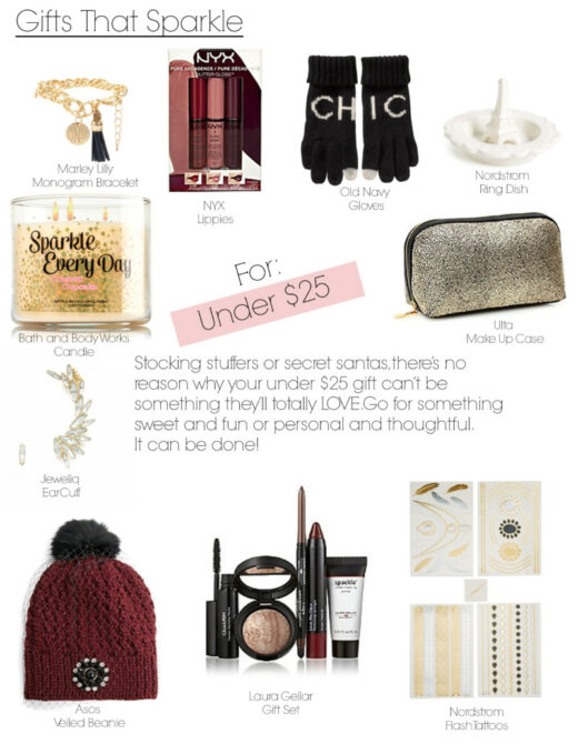 Gifts That Sparkle Under $25