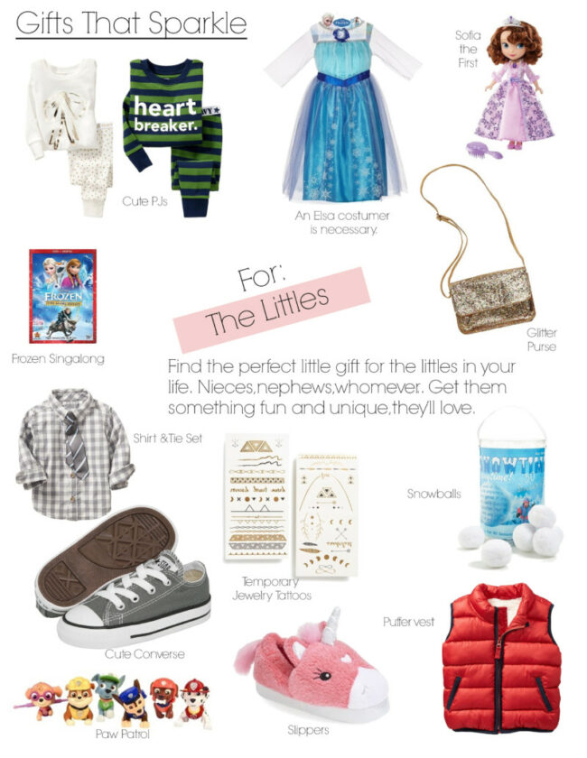 Gifts That Sparkle for the littles