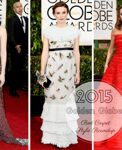 2015 golden globes red carpet style recap
