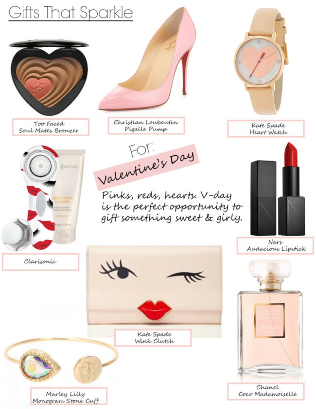 Gifts That Sparkle Valentine's Day Gifts for Her