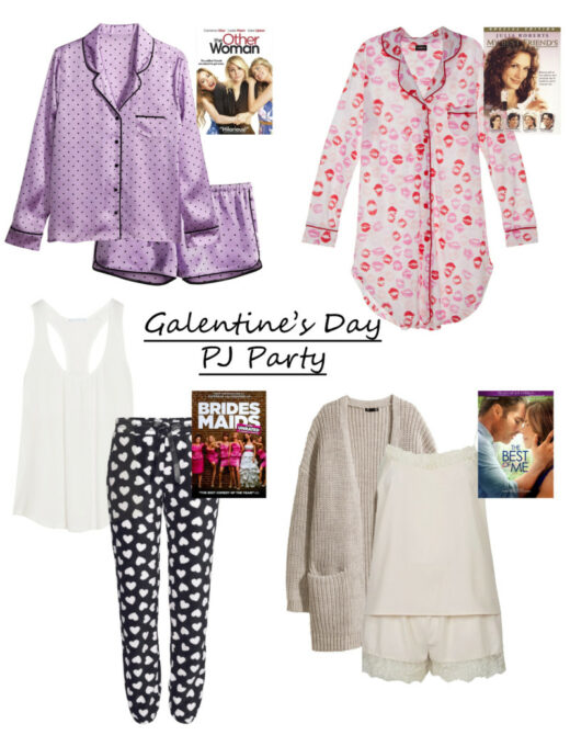 galentines day pajama party