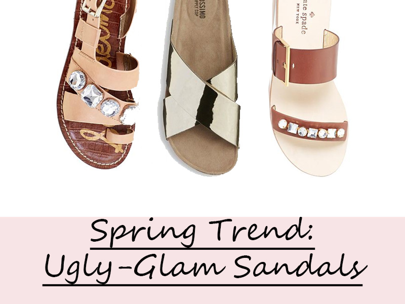 Factor • Spring Sandals Sparkle TrendUgly Glam Stephanie PernasA thQrds