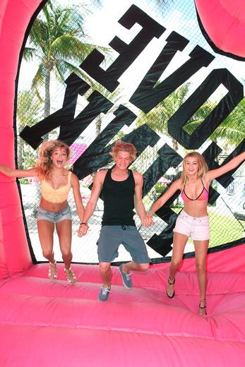 Rachel Hilbert, Cody Simpson, Gigi Hadid Host Victoria's Secret PINK Nation Ultimate Spring Break Bash At Surfcomber Hotel