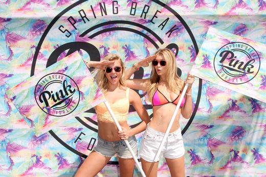 Rachel Hilbert and Gigi Hadid Host Victoria's Secret PINK Nation Ultimate Spring Break Bash At Surfcomber Hotel