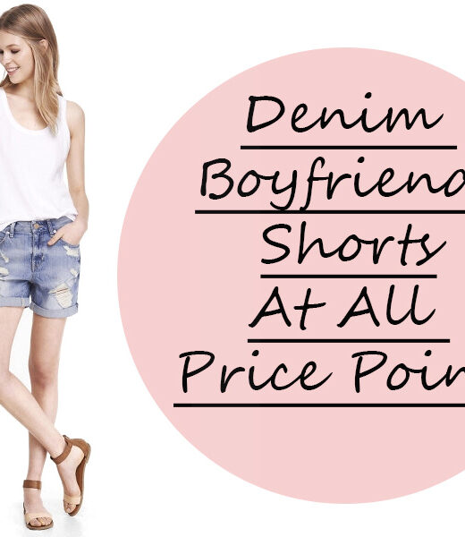 denim boyfriend shorts at all price points