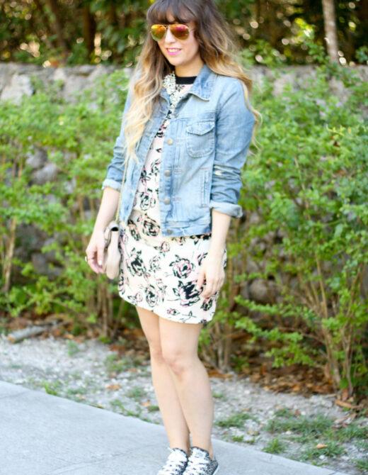 TJ Maxx Floral Dress (2 of 8)