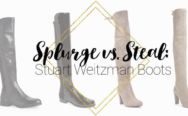 Stuart Weitzman Boots Look for Less