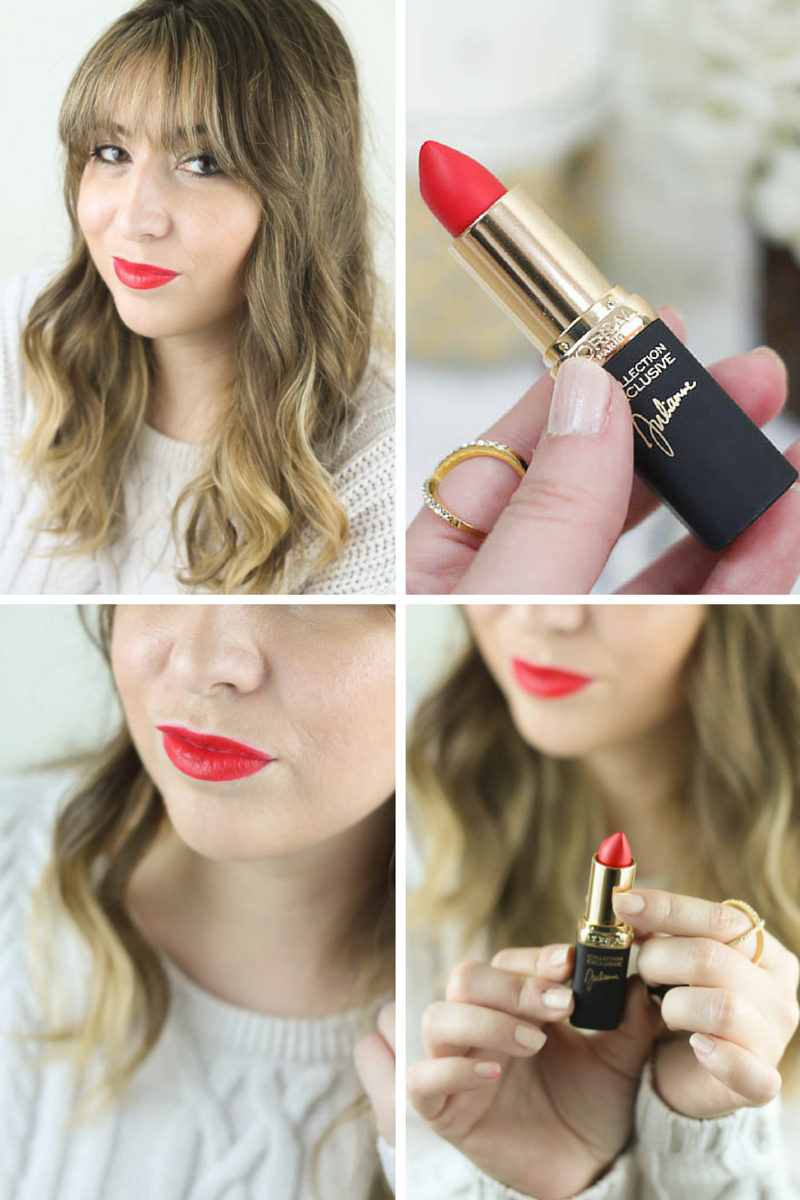 Best Drugstore Red Lipsticks - L'Oreal Colour Riche Collection Exclusive Lip Colour Julianne's Red