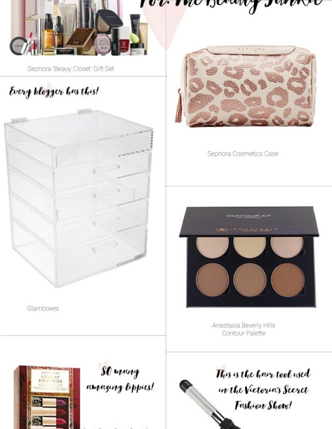 Gift Guide – For the Beauty Junkie