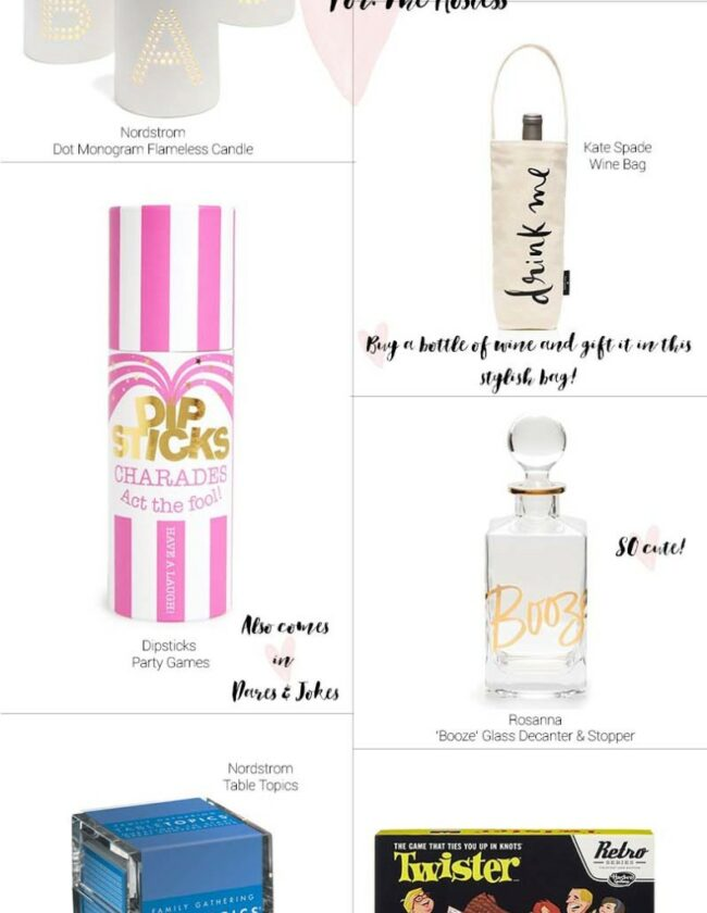 Gift Guide – For the Hostess
